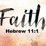 hebrews 11 verse 1 Online Christian Service