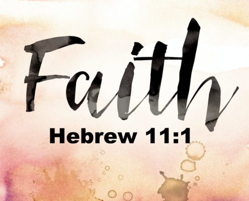 hebrews 11 verse 1 Online Christian Service